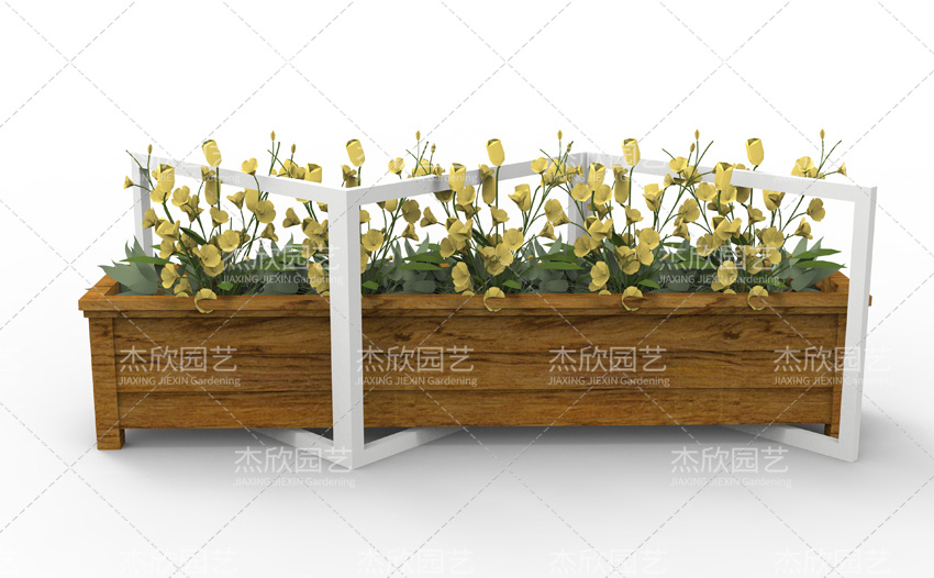 木纹三折铝合金景观贝博软件