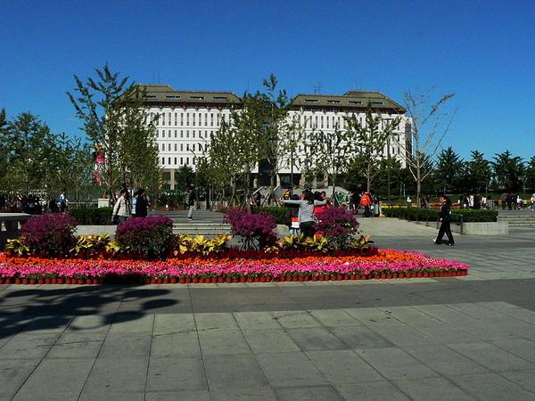 西单文化广场或将长安街上最大的绿地文化广场