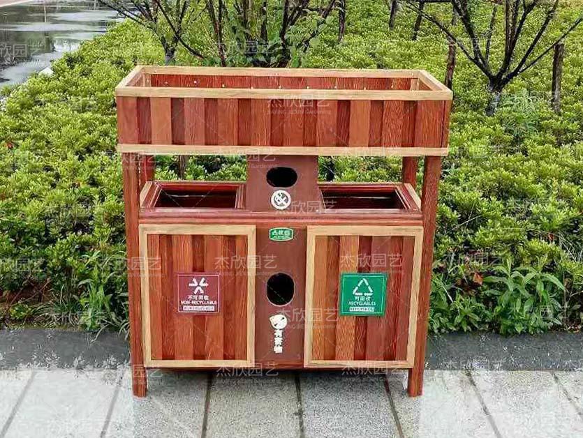 绿化垃圾桶