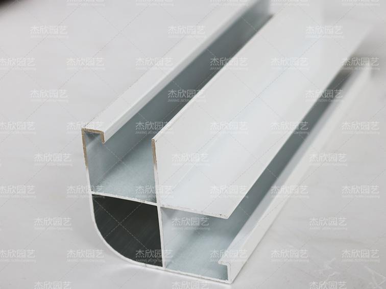 铝合金贝博软件型材转角立柱