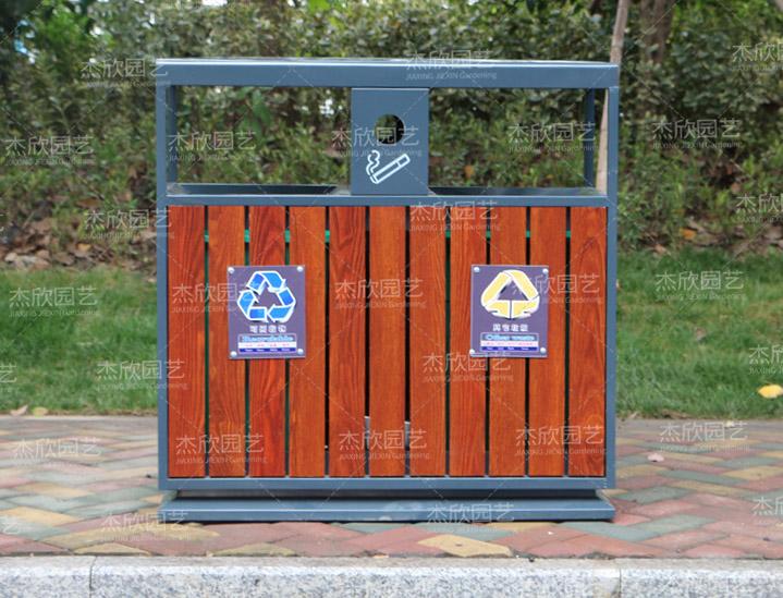 铝合金古风垃圾箱
