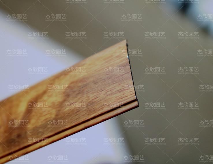 木纹铝合金贝博软件型材立柱盖板