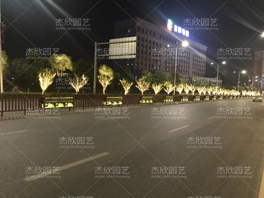 道路发光贝博软件,提亮街景